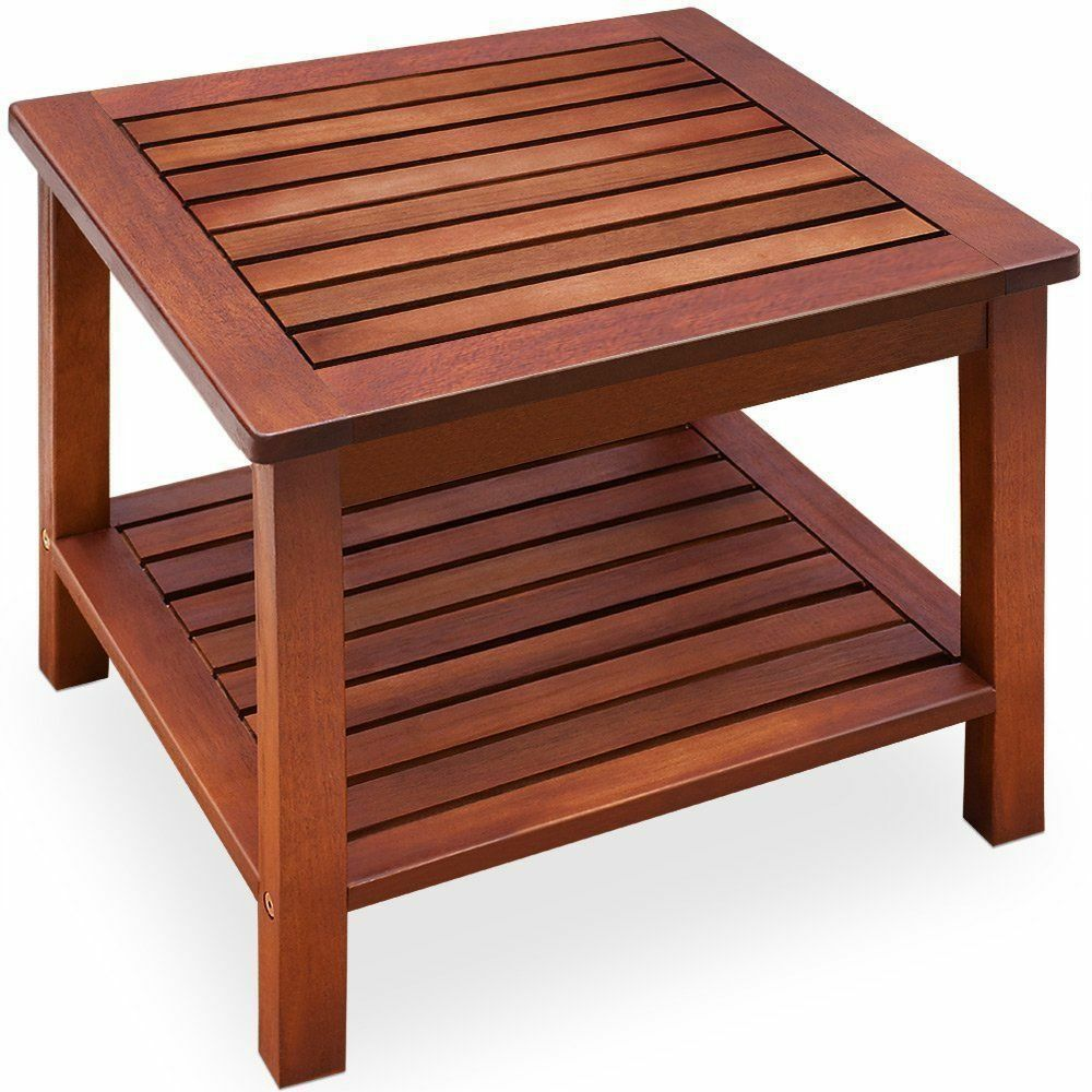 wooden garden patio tables for sale