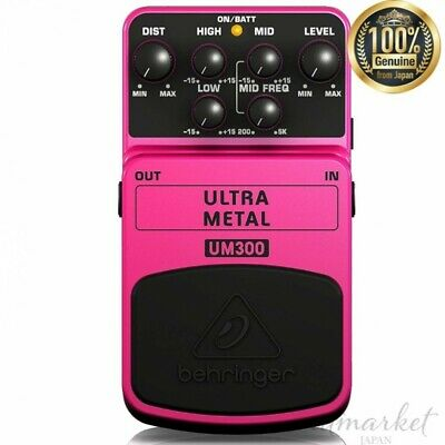 Bellinger Heavy metal distortion effect pedal for guitar UM300 ULTRA metal JAPAN