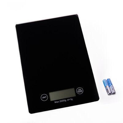Digitale Küchenwaage 5000g / 1g Briefwaage digital Grammwaage