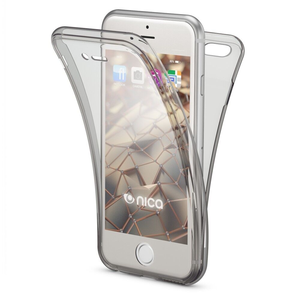Apple iPhone 6 6S Hülle 360 Grad Handy Hülle von NALIA Full Cover Silikon Schutz