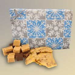 Deluxe Christmas Fudge and Peanut Brittle Gift Box