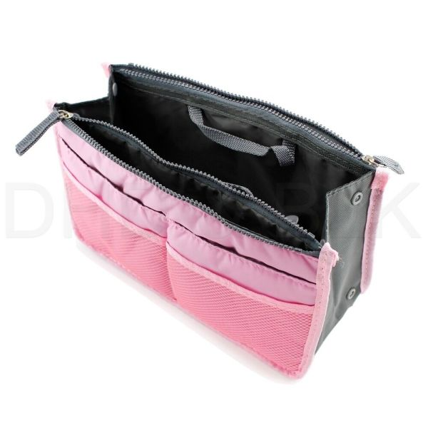 Women Lady Travel Insert Handbag Organiser Purse Large Liner Organizer Tidy Bag 5