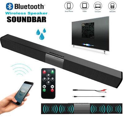Bluetooth Soundbar Lautsprecher Heimkino 4*5W Stereo Subwoofer für TV PC