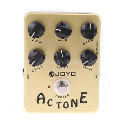JOYO JF-13 AC Ton Vox Amp Simulator Gitarren Effekt Pedal True Bypass N7S2