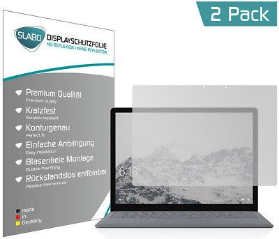 "Slabo Displayschutzfolie Microsoft Surface Laptop (2er Set) MATT ""No Reflexion"""