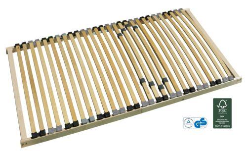 7-Zonen-Lattenrost starr 140x200cm mit Härtegradverstellung
