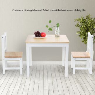 2 Seater Dining Table And Chairs Breakfast Kitchen Room Small Furniture Set