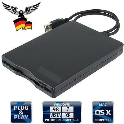 USB Diskettenlaufwerk 3.5'' extern für Windows 98/SE/2000/ME/XP/VISTA/WindowsE5