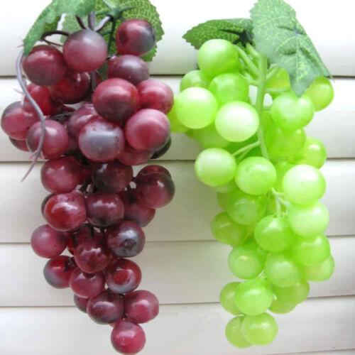 Weintrauben Rispe Wein Trauben Kunstobst Kunstgemüse Künstliches Obst Deko