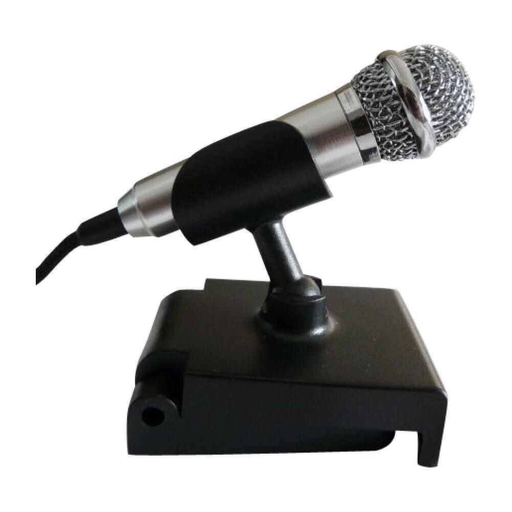 PC Mikrofon mit Befestigungsclip Ansteckmikrofon Microphone Tischmikrofon (mic-L