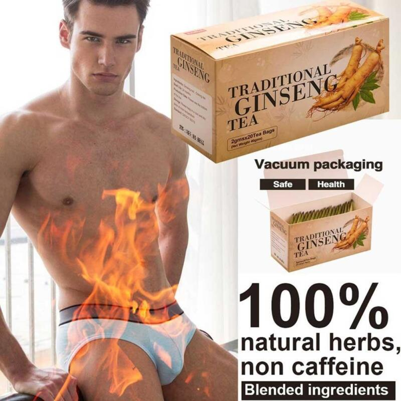 1PC  Traditional Ginseng Oolong Chinese Health Care Reinforce Vital Energy