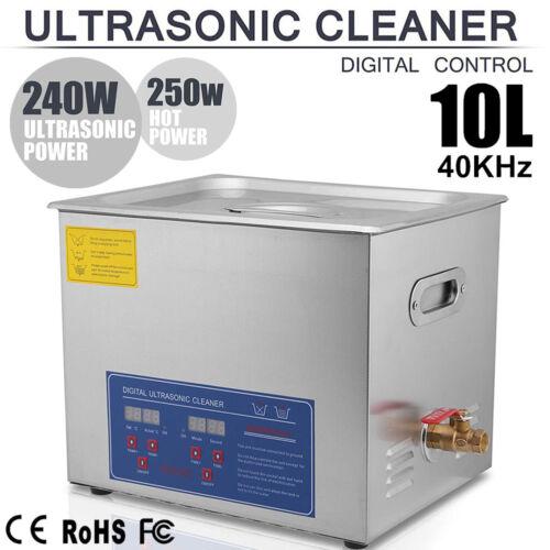 10L Ultraschall Reinigungsgerät Ultraschallreiniger Ultrasonic Cleaner mit Korb