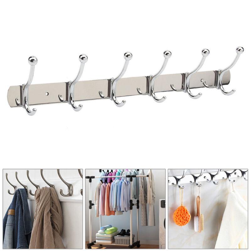 adjustable wall mounted coat rack hat