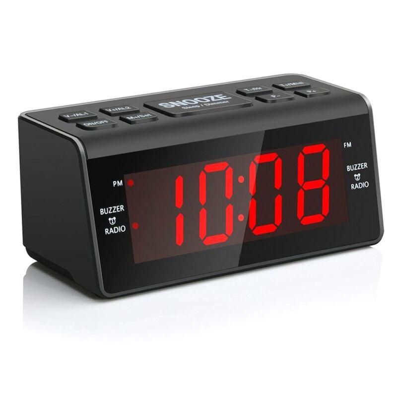 Radiowecker Digital FM/AM Uhrenradio Wecker mit Nachtlicht Funktion Dual - Alarm