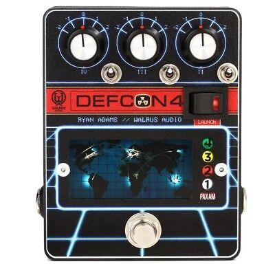 Walrus Audio DEFCON4 Preamp / EQ / Boost Guitar Effects Pedal