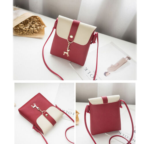 Women Leather Handbag Shoulder Lady Cross Body Bag Tote Messenger Satchel Purse 4