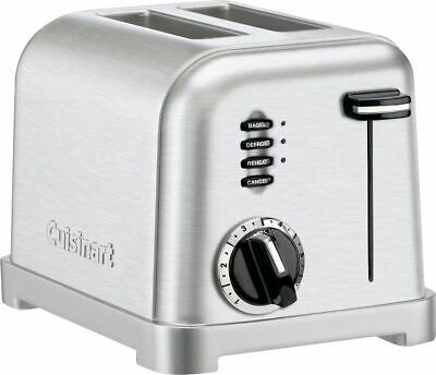 Cuisinart - Classic 2-Slice Toaster - Stainless Steel