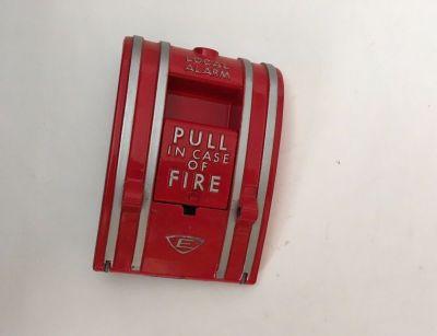 *NIB* *New* *Vintage* EST Edwards 270A-SPO Fire Alarm Pull Station