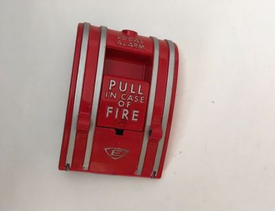 "*NIB* *New* *Vintage* EST Edwards 270A-SPO Fire Alarm Pull Station ""Local Alarm"""