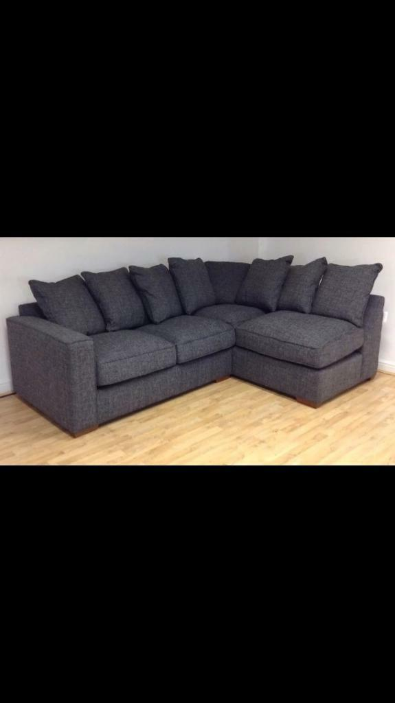 Furniture is an essential part of any home, but it sure isn't cheap. BRAND NEW Furniture Village Dune Grey Small Corner Sofa ...