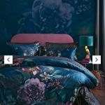 Matalan Floral Velvet Double Duvet Cover In Reddish Manchester Gumtree