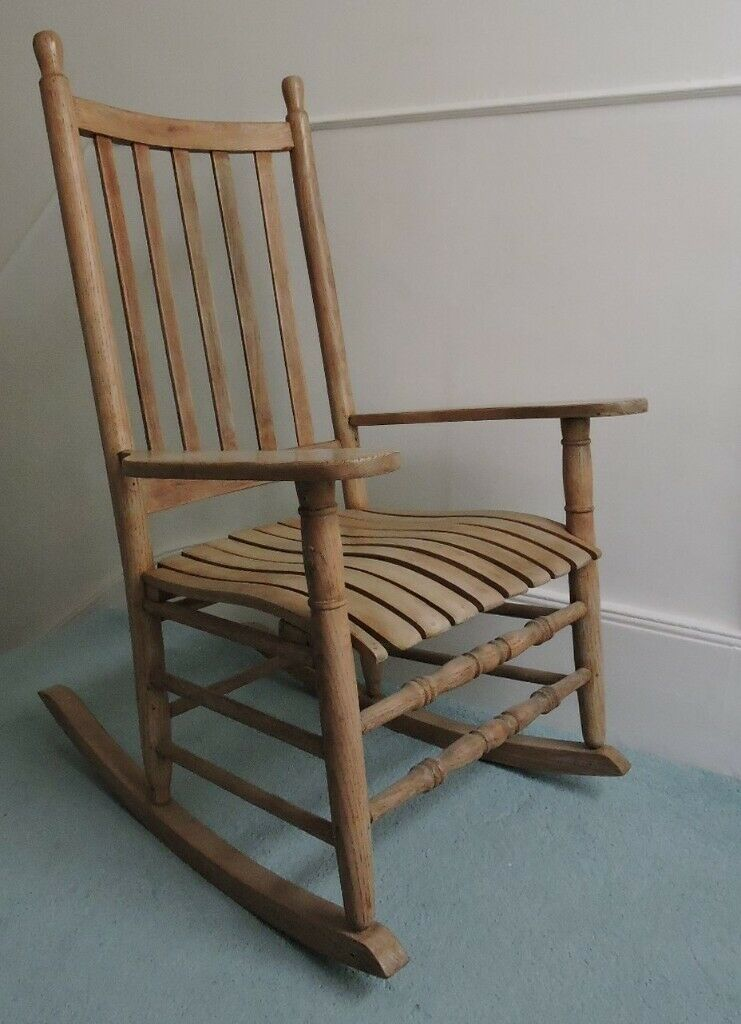 Lovely Big Wooden Rocking Chair In St Leonards On Sea East Sussex Gumtree