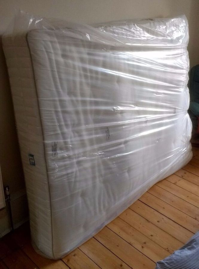New Ikea King Size Hokkasen Mattress Unused In Bargain Corner Packaging With Superficial Marks