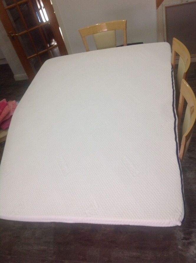 Raskelt Duvaly Caravan Fixed Bed Mattress Topper