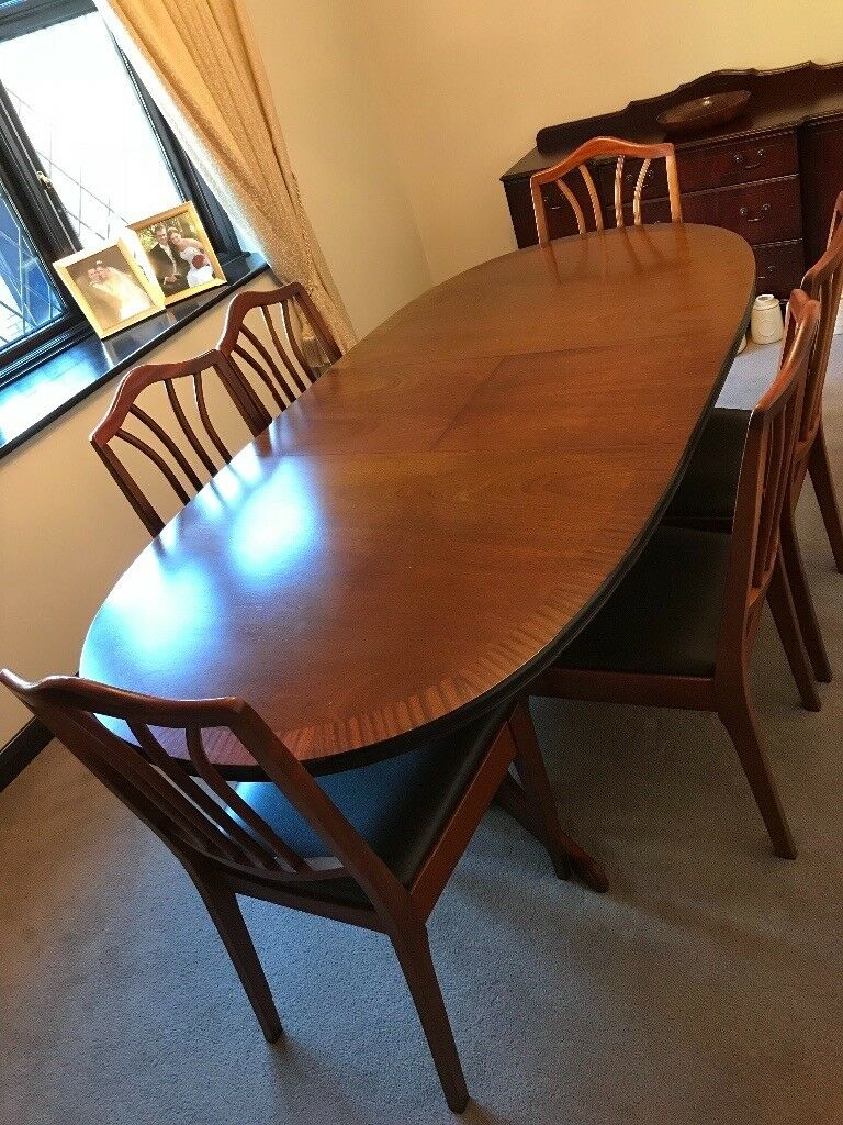 house clearance dining room table and 6 chairs in on dining room sets on clearance id=61493