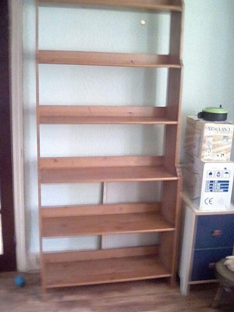 Pine Bookcase Shekving In Reddish Manchester Gumtree