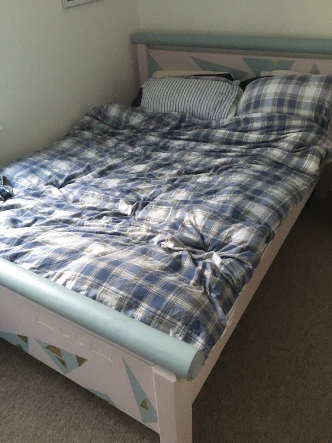 Free Double Bed Mattress And Wardrobe