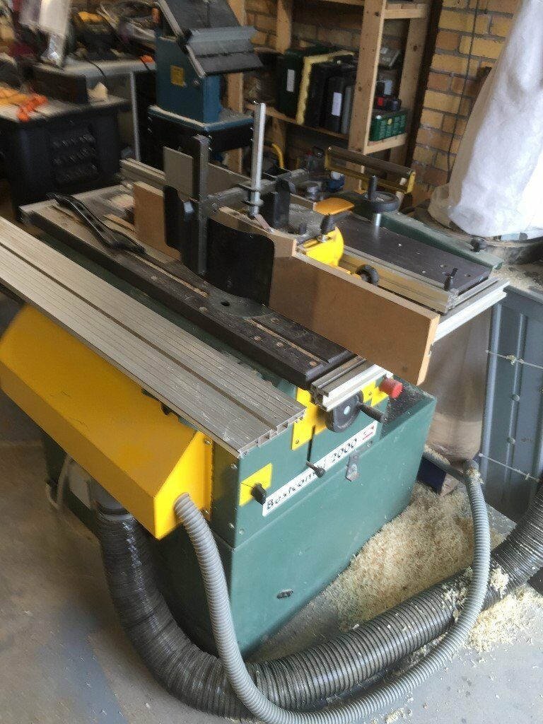 Kity Bestcombi 2000 Saw Bench With Spindle Moulder