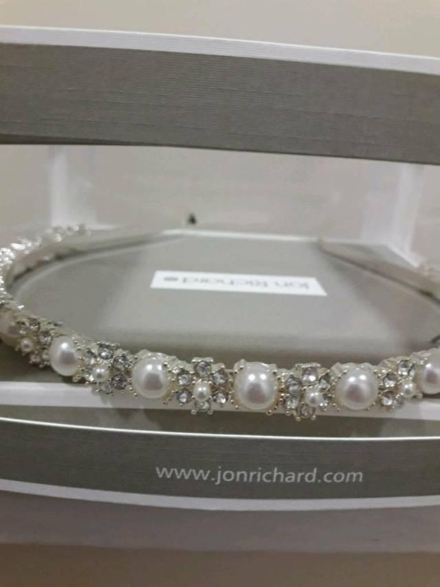 debenhams jon richards bridal hairband | in consett, county durham | gumtree