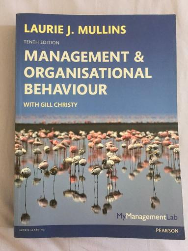 Management and organizational behavior book   in Brighton  East     Management and organizational behavior book