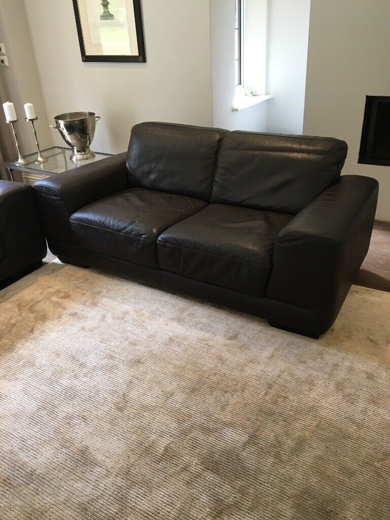 But reupholstering the sofa yourself is likely easier than you imagine. 2 Natuzzi brown leather sofas | in Crowthorne, Berkshire ...