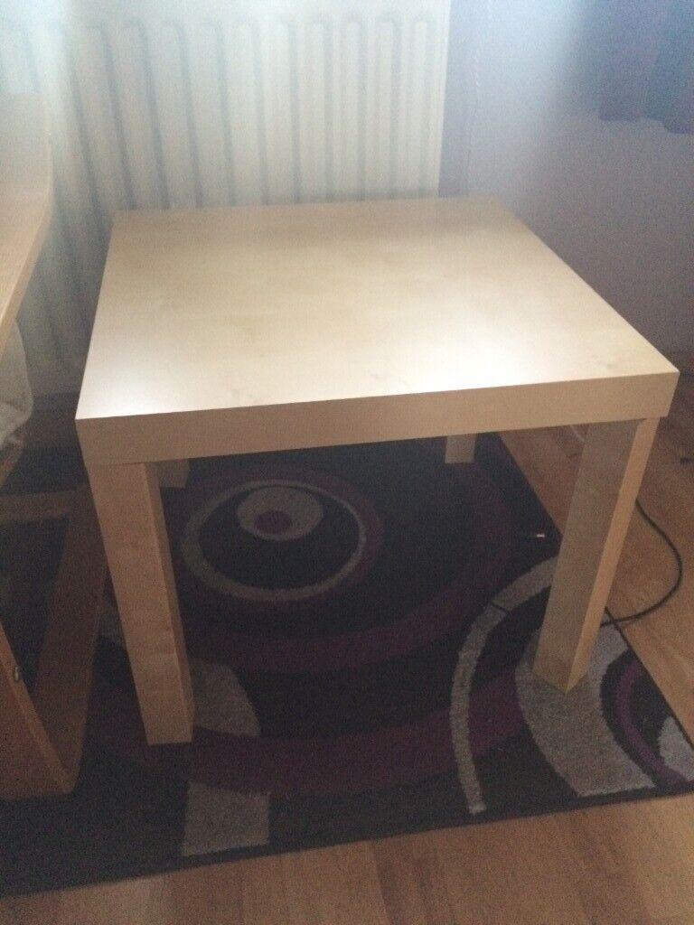 Ikea Lack Side Table White Stained Oak Effect In Houghton Regis Bedfordshire Gumtree