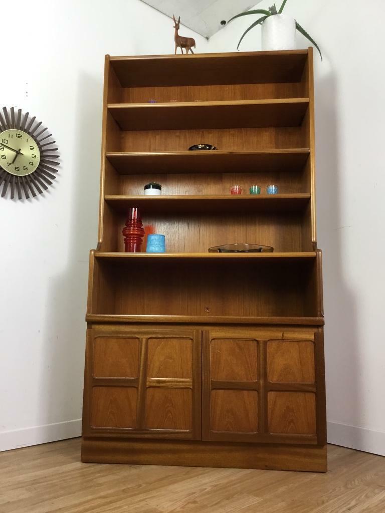 Vintage Mid Century Modern Retro 1960 70 S Nathan Teak Display Shelf Unit Book Shelves Media Unit In Bideford Devon Gumtree