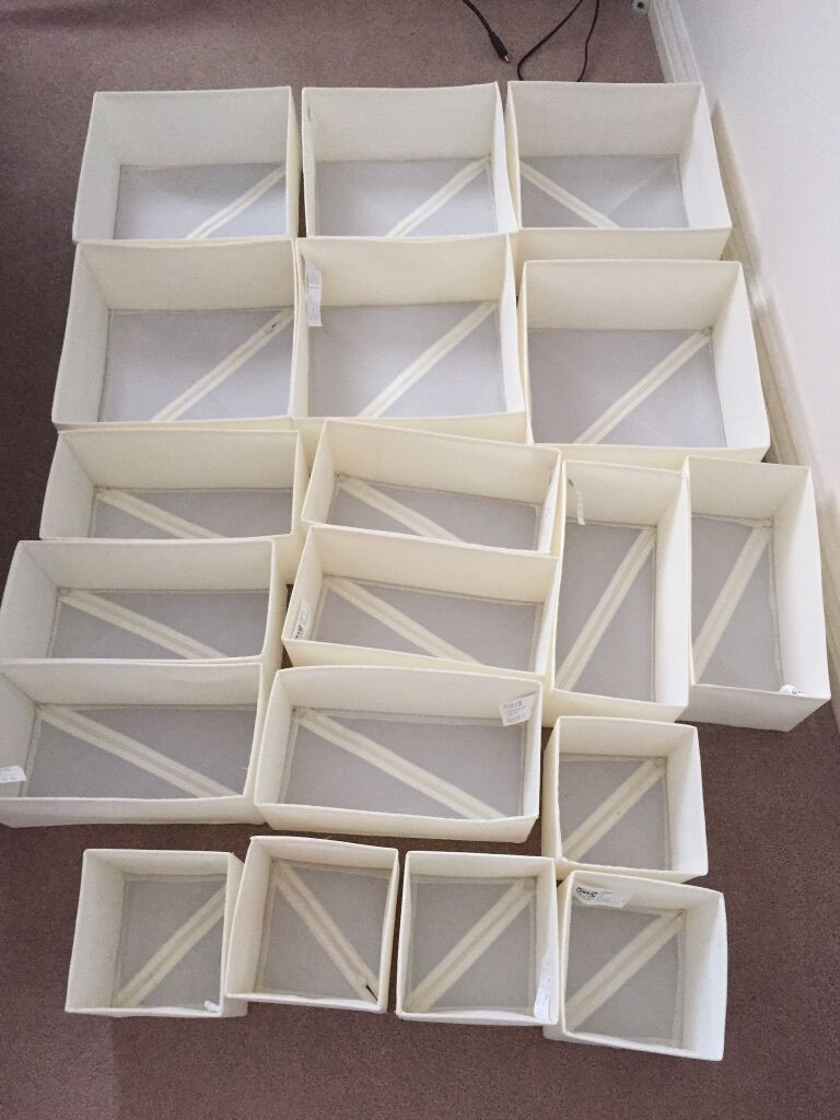 IKEA Storage Drawer Dividers Inserts Bedroom In