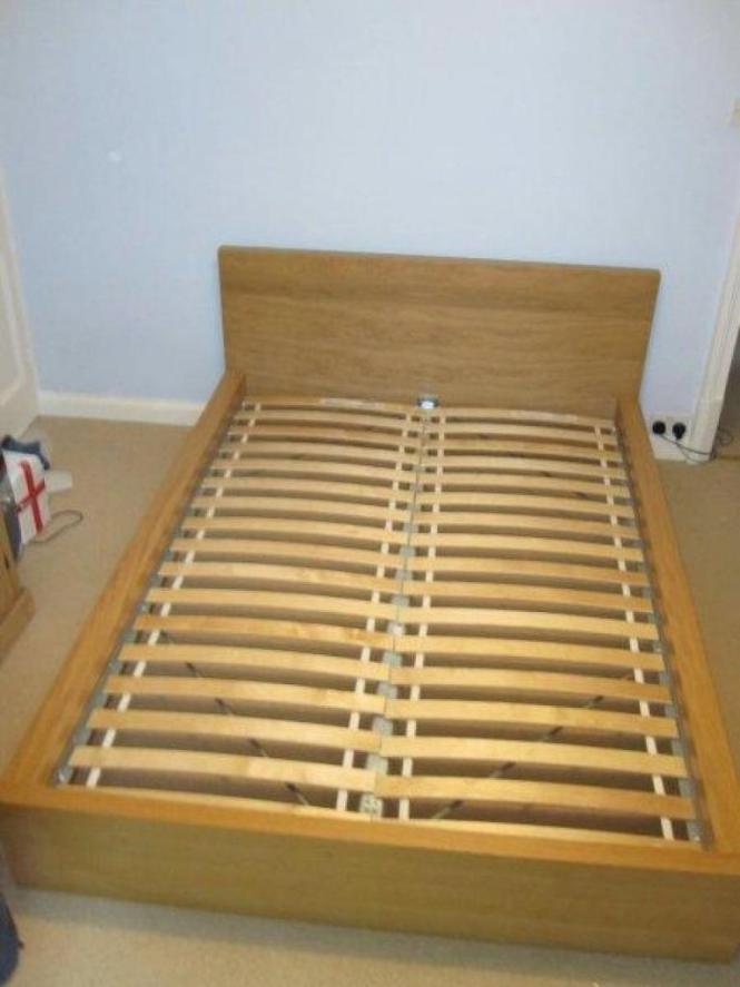 Ikea Malm Double Bed Mattress