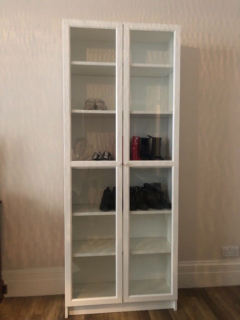 Ikea Billy Bookcase With Glass Doors Assembled In West End London Gumtree
