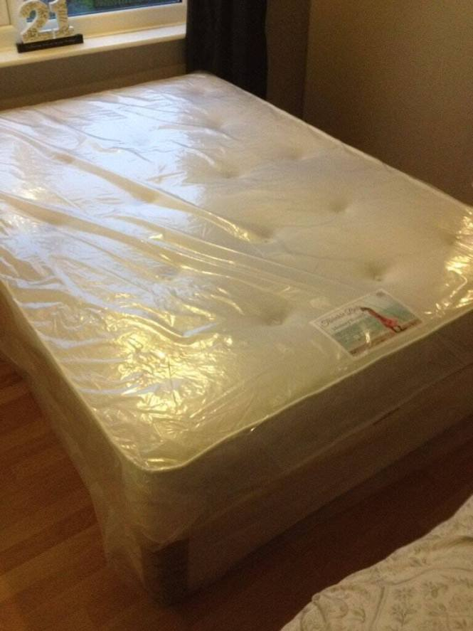 Luxury Memory Foam Double Mattress And Divan Bed Free Delivery