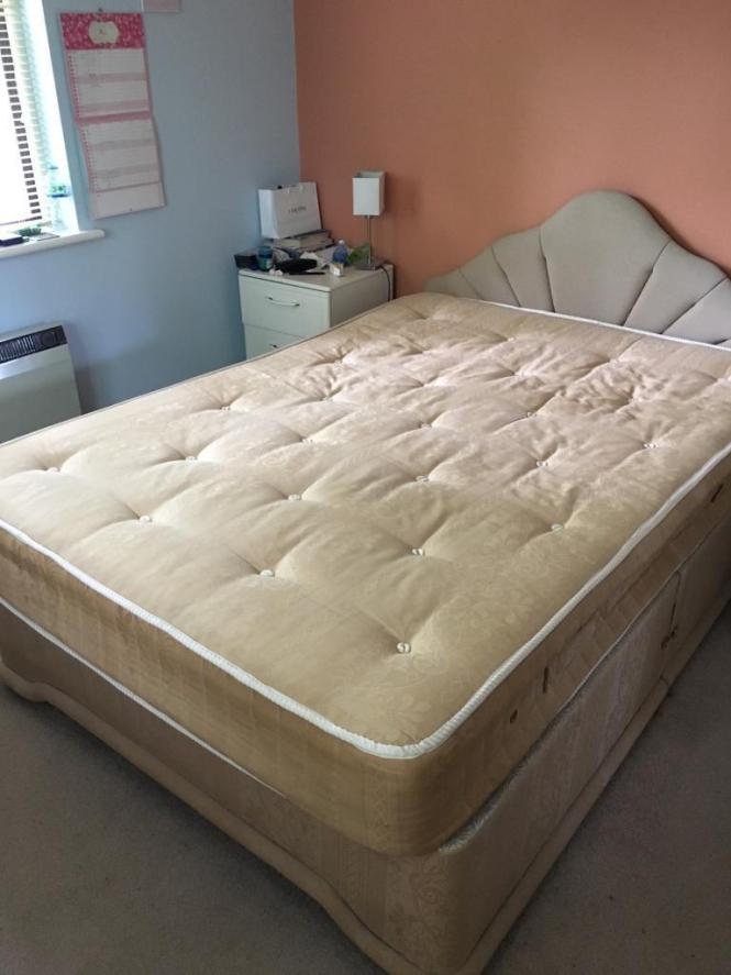 Double Bed Plus Mattress