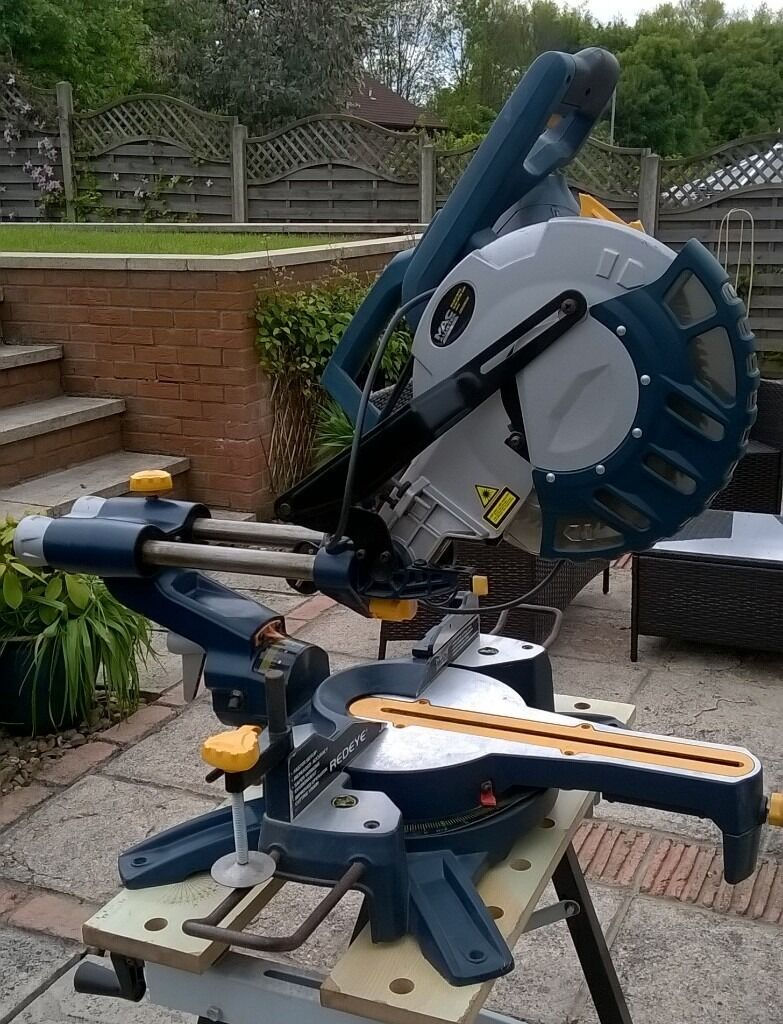 Macallister Cod250dlsm Double Bevel Slide Mitre Saw Spares Or Repairs