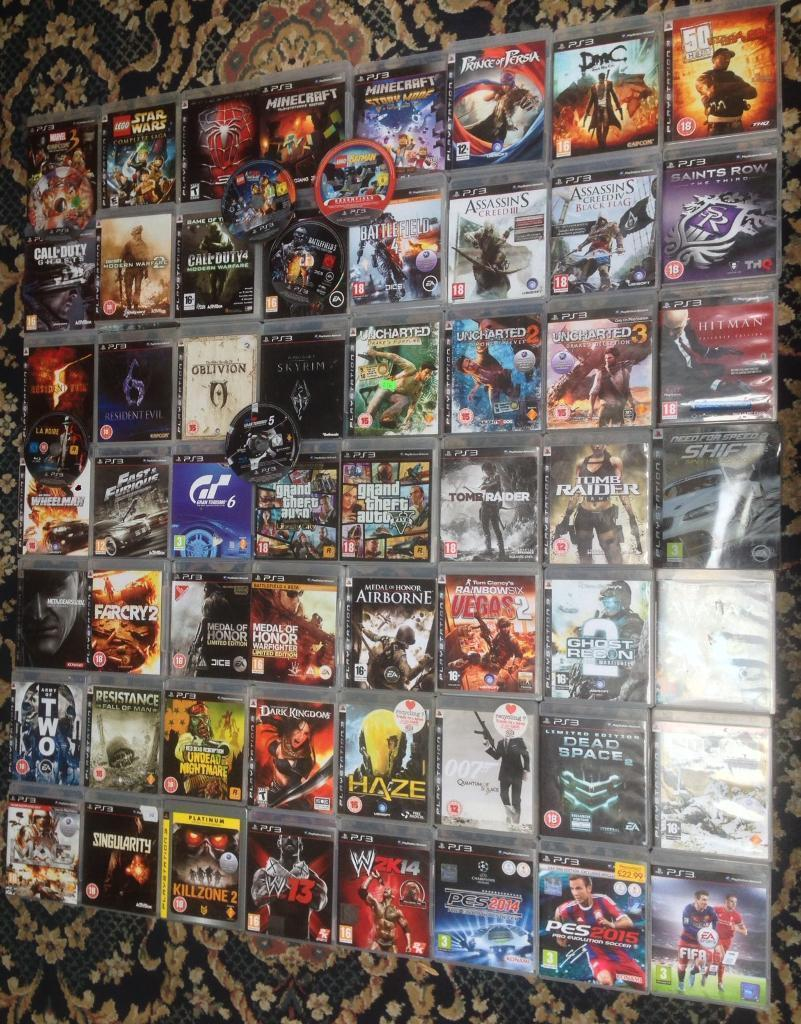 PLAYSTATION 3 PS3 GAMES 3 FOR     10 FIFA GTA 5 COD MW2 BLACK OPS 2     PLAYSTATION 3 PS3 GAMES 3 FOR     10 FIFA GTA 5 COD MW2 BLACK OPS 2