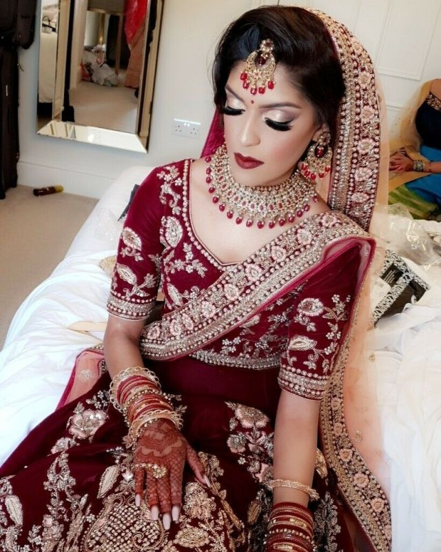 professional asian bridal and party hair & makeup artist