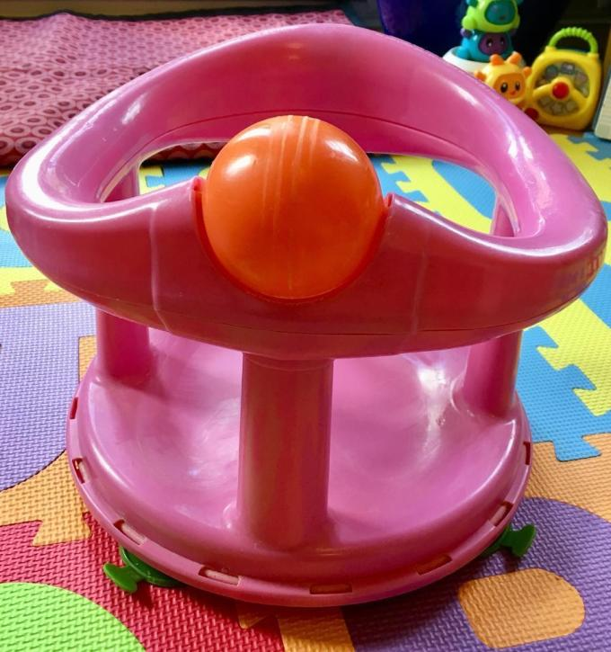 Safety 1st Swivel Bath Seat Pink With Rotating Ball | www ...