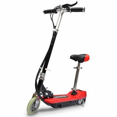 vidaXL Elektroroller Sitz Rot Elektro Scooter Kinderroller E-Scooter Roller