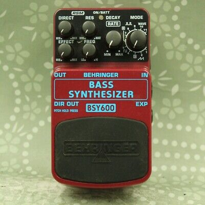 Behringer BSY600 Bass Synthesizer Guitar effect pedal (S1001687524)