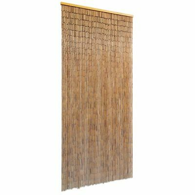 vidaXL Bambustürvorhang Bambusvorhang Türvorhang Insektenschutz Bambus 90x200 cm