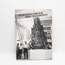 Moderna Museet Stockholm Vladamir Tatlin Exhibit Postcard ...